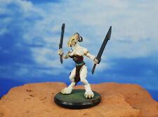 Rackham Confrontation Wolfen of Yllia Vestals Attachment Painted Figure K1209 L