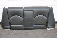 BMW E46 2001-06 M3 Coupe Rear Fold Seats Seat Back Seatback Nappa Leather Black
