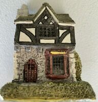Lilliput Lane Tuck Shop SIGNED from England Collection Handmade Miniature Rare