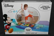 NEW DISNEY MICKEY MOUSE CLUBHOUSE INTERACTIVE ELECTRONIC FLOOR PIANO MUSIC MAT