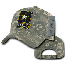 United States Army Star US Universal Digital Camo Cotton Baseball Ball Caps Hats