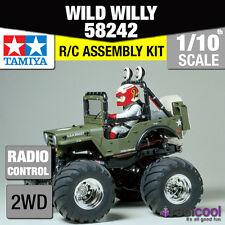 58242 TAMIYA WILD WILLY 2 WR-02 1/10th R/C Kit Radio Control 1/10 Coche NUEVO!