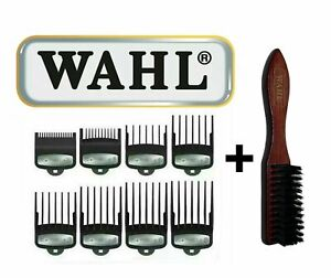 WAHL Premium Clipper Guards Wahl Fade Brush For Professional Barbers *UK Seller*