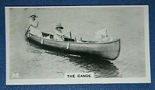 CANOE    Original Vintage Photo Card