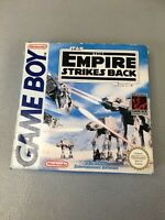 star Wars The Empire Strikes Back Nintendo Gameboy Boxed rare Complete PAL UKV