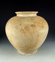 Nice Chinese Antique White Glazed Pottery Pot
