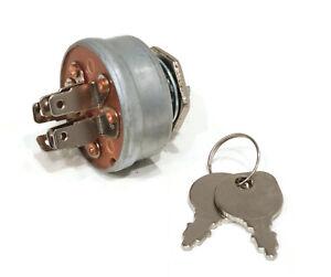 "Ignition Key Switch fits Briggs & Stratton 936316 48"" Deck, Ariens YT2048H, 20HP"