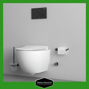 Creavit Hänge-Wand-WC Toilette spülrandlos inkl. Softclose-Deckel NEU