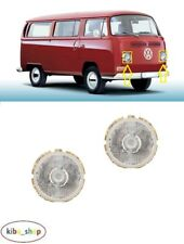 VW TRANSPORTER T2 1973 - 1979 2X NEW FRONT HEADLAMPS WITH FRAME LEFT + RIGHT LHD