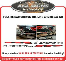 POLARIS Switchback Edge IFS Replacement Trailing arm Decals