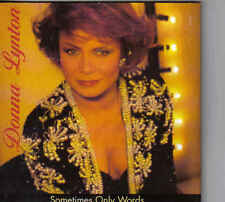 Donna Lynton-Sometimes Only Words cd single