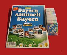 Panini Bayern sammelt Bayern - komplett alle 324 Sticker + Album Leeralbum RAR
