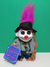 """HOBO - 5"""" Russ Troll Doll - NEW WITH HANG TAG  - Magenta Colored Hair - LAST ONE"""