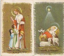 CHROMO PRIERES A STE RITA RELIGION JESUS AIME LES COEURS PURS FORMAT 6 x 10 cm