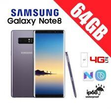 SAMSUNG GALAXY NOTE 8 N950 64GB ORIGINAL LIBRE GRIS GARANTIA+CAJA+ACCESORIOS