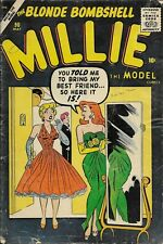 Millie The Model #90 1959 Marvel Silver Age Romance Comic Book