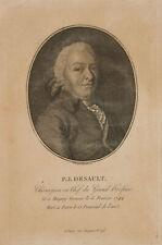 F. BONNEVILLE (1755-1844), Porträt des Pierre Joseph Desault, Kst., um 1830