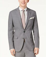 Cole Haan Grand.OS Wearable Technology Slim-Fit Stretch Solid Suit Jacket 50R