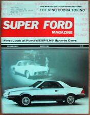 SUPER FORD 1981 MAR - EXP, BOSSES, CLAN & GHIA FALCON