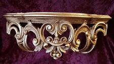 Shelf Wall Console Gold Baroque Mirror Console 50x20x24 Antique Ornaments CP72