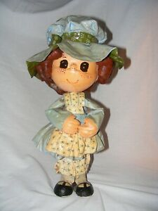 "Holly Hobbie Hand Crafted Paper Mache 18"" Tall"