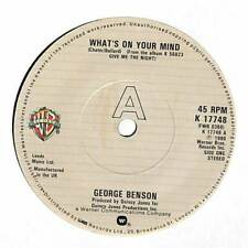 "George Benson - What's On Your Mind - 7"" Record Single"