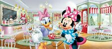 Wandbild Tapete Minnie Mouse 202x90cm Kinder Schlafzimmer Disney Plakat Groß