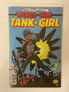World War Tank Girl #1 Cover C NM Beauty Great Series! Titan Comics