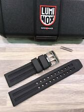 "Luminox PU Black Strap ""EUS"" 8050, 8150, 8250, 8350: 23MM Dive Chrono. New"