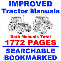 ford new holland tractors 5640 6640 7740 7840 8240 8340 service ford new holland 5640 6640 7740 7840 8240 8340 factory service shop 2 manuals