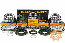 M20 Gearbox Bearing Rebuild Repair Kit TIMKEN 8 bearings 4 seals (25mm input)