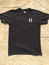 Huf x Thrasher T-Shirt Black/White Men's Size Large BRAND NEW