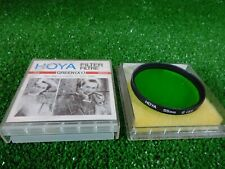 Hoya 55mm G ( X1 ) Green for black and white photography Japan/free uk shipping