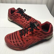 Reebok Crossfit CF74 Men's Shoes Red Athletic Cross Trainer - Size 12