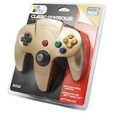 N64 - Controller OG - Gold (TTX Tech) Far better than any cheap unbranded pads