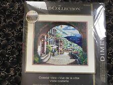 """Dimensions """"Coastal View""""   cross stitch kit."""