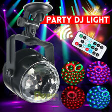 RGB Strobe Lamp DJ Rotating Ball Led Stage Laser Lights KTV Disco Club Party US