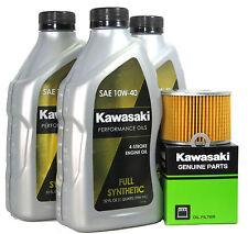 1990 Kawsaki ZR550-B1 (Zephyr)   Full Synthetic Oil Change Kit