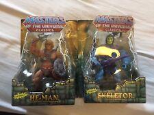 MOTU Classics HE-MAN & squelettor MOTUC Mattel