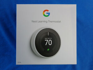 Nest T3017US 3rd Generation  Thermostat - White