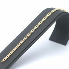 Panzerarmband 585 Gold 14 Kt Gelbgold Armband 19 cm 8,6 Gramm Wert 770,-