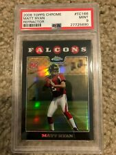 Matt Ryan 2008 Topps Chrome Refractor PSA 9 MInt RC