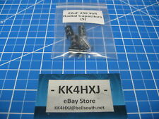 250V 22uF Radial Electrolytic Capacitors - Imported - 5 Pieces