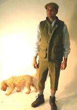 Gilet da uomo verde casual con cerniera