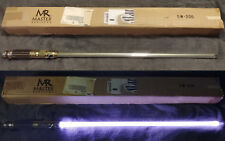 Star Wars SW-206 Master Replicas Mace Windu Custom led lightsaber - NO STAND-BOX