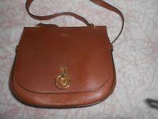 Mulberry Amberley Satchel Bag Oak Small Classic Grain Leather