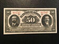 MEXICO  50 Centavos  1915  -- UNC