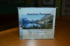United States Air Force Band American Premieres CD Monterey Holidays Evolution