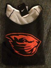 Nwt Nike Oregon State Beavers Sweatshirt Womens Small Black Heat Msrp$70 Ls Y15