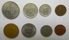MALAYSIA 8 different COINS